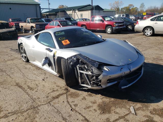 2011 Ferrari 458 Italia For Sale Mn Minneapolis North Tue Jan 26 2021 Used Salvage Cars Copart Usa