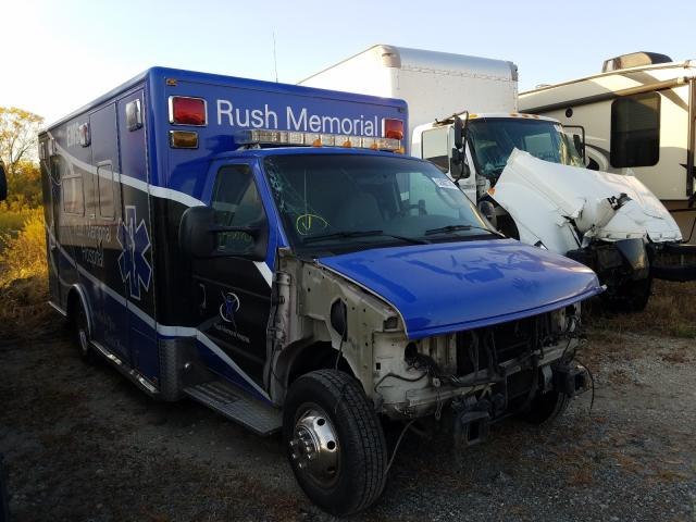 Salvage cars for sale from Copart Cicero, IN: 2006 Ford Econoline