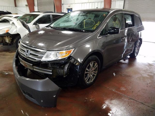из сша 2011 Honda Odyssey Ex 3.5L 5FNRL5H68BB097151