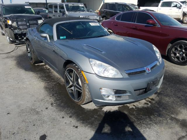 Salvage cars for sale from Copart Anthony, TX: 2007 Saturn Sky