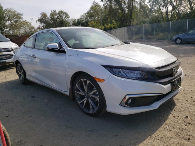 Salvage cars for sale from Copart Baltimore, MD: 2019 Honda Civic Touring