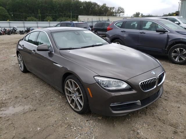 BMW 650 I Gran salvage cars for sale: 2014 BMW 650 I Gran