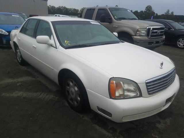 Cadillac salvage cars for sale: 2002 Cadillac Deville