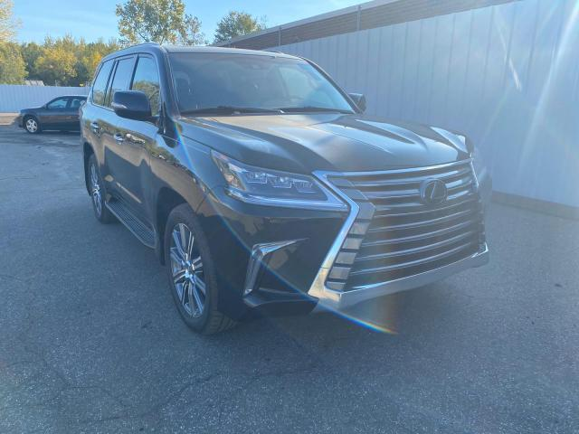 Salvage cars for sale from Copart New Britain, CT: 2017 Lexus LX 570