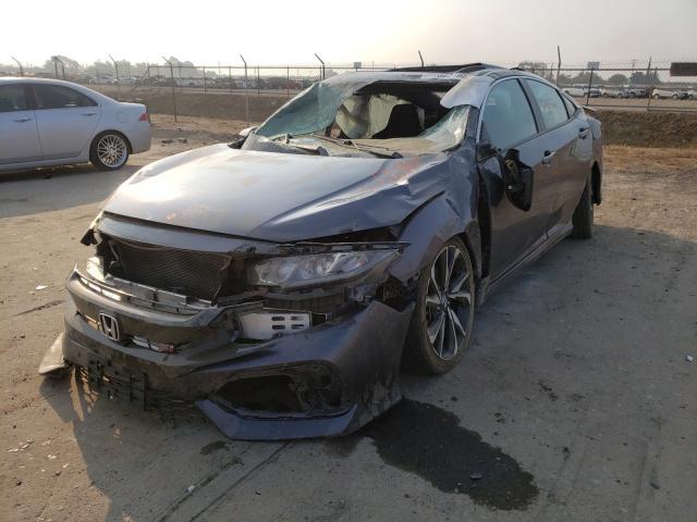 из сша 2018 Honda Civic Si 1.5L 2HGFC1E50JH706007