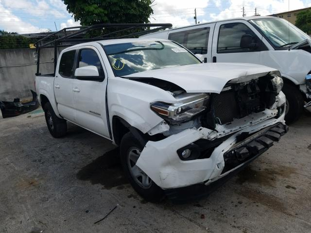 Salvage cars for sale from Copart Opa Locka, FL: 2016 Toyota Tacoma DOU