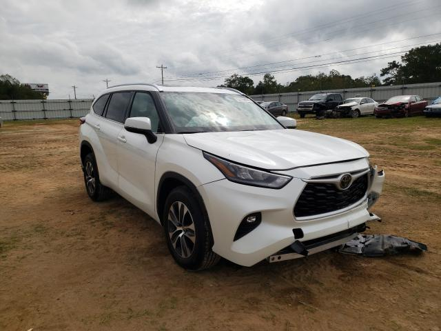 Salvage cars for sale from Copart Newton, AL: 2020 Toyota Highlander