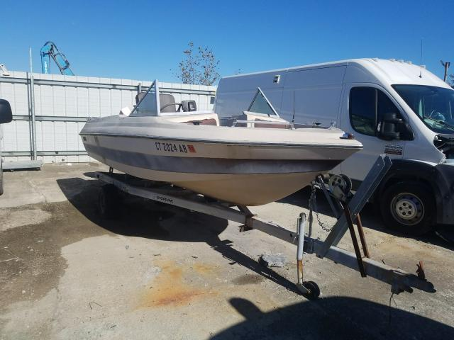 Salvage 1980 Basstracker PISCES for sale