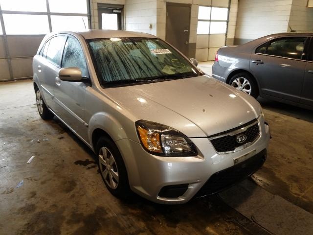 KIA Rio LX salvage cars for sale: 2010 KIA Rio LX