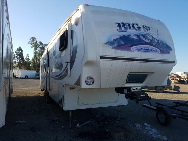 Salvage cars for sale from Copart Vallejo, CA: 2008 Keystone 5th Wheel