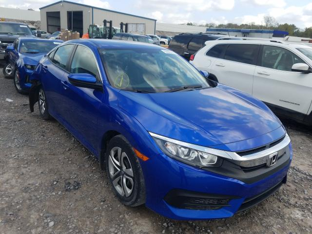 Salvage cars for sale from Copart Hueytown, AL: 2016 Honda Civic LX