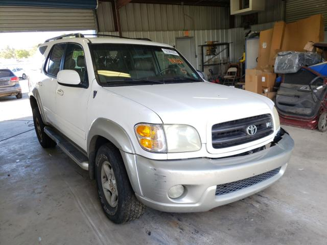 Toyota Sequoia salvage cars for sale: 2002 Toyota Sequoia