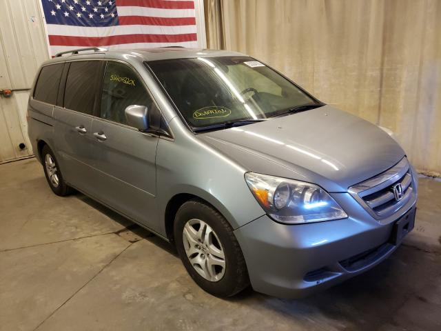 Salvage cars for sale from Copart Avon, MN: 2006 Honda Odyssey
