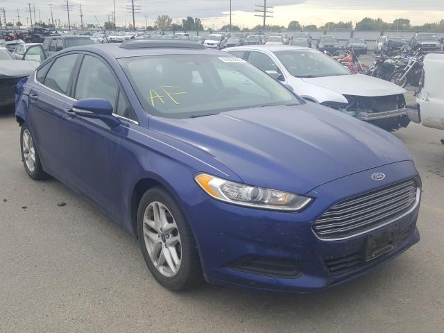 Salvage cars for sale from Copart Nampa, ID: 2016 Ford Fusion SE