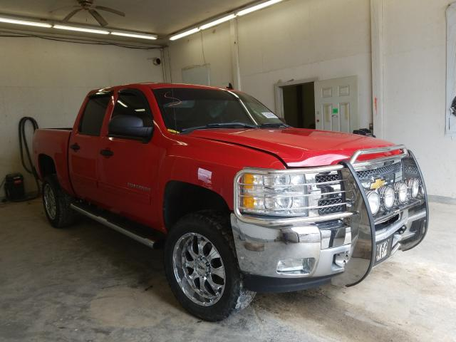 Salvage cars for sale from Copart Madisonville, TN: 2012 Chevrolet Silverado