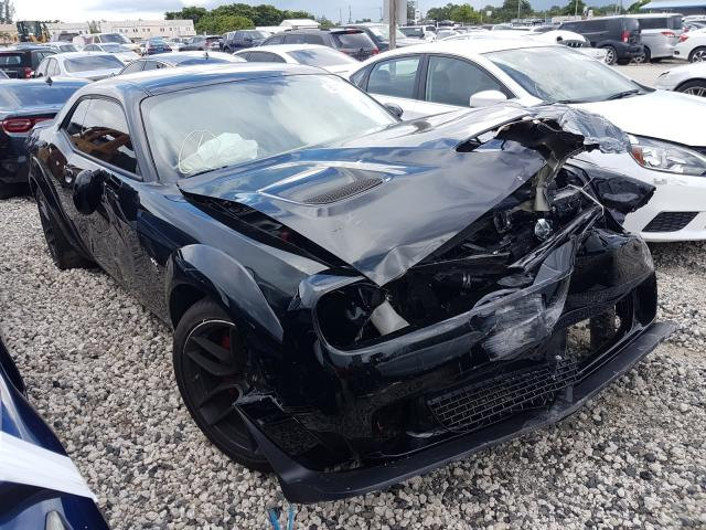 Salvage cars for sale from Copart Opa Locka, FL: 2020 Dodge Challenger