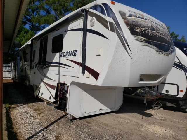 Keystone Alpine salvage cars for sale: 2014 Keystone Alpine