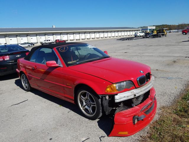 Salvage cars for sale from Copart Louisville, KY: 2001 BMW 325 CI