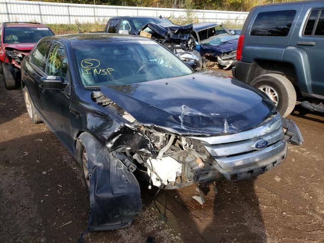 Vehiculos salvage en venta de Copart Davison, MI: 2012 Ford Fusion SEL