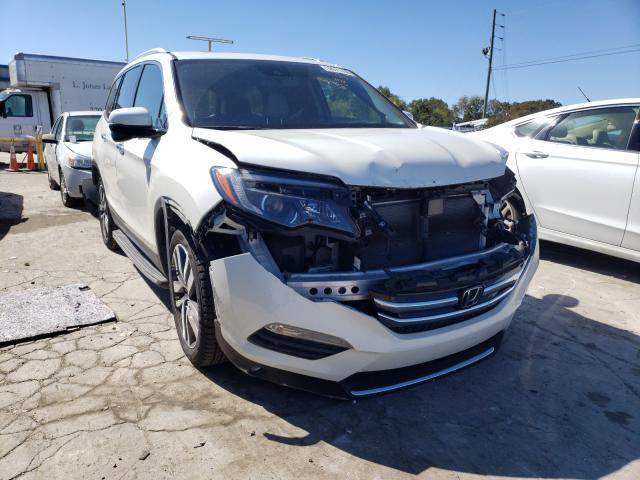 Salvage cars for sale from Copart Lebanon, TN: 2017 Honda Pilot Touring