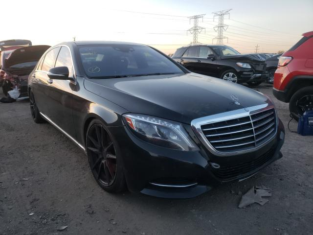 Salvage cars for sale from Copart Elgin, IL: 2016 Mercedes-Benz S 550 4matic