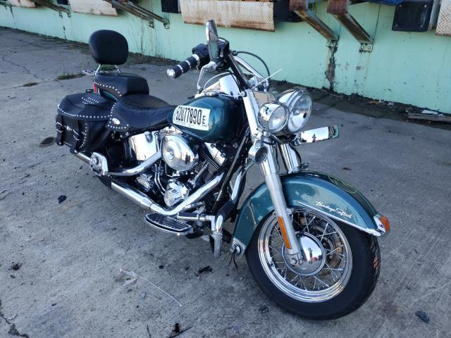 Salvage cars for sale from Copart Columbus, OH: 2002 Harley-Davidson Flstc