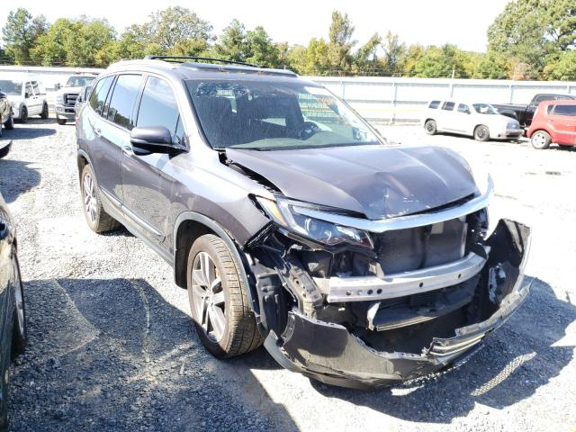 Salvage cars for sale from Copart Shreveport, LA: 2016 Honda Pilot Touring