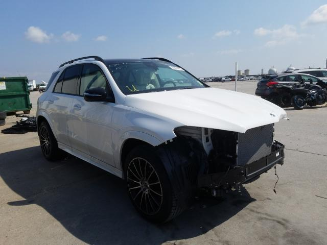 Salvage cars for sale from Copart New Orleans, LA: 2020 Mercedes-Benz GLE 350
