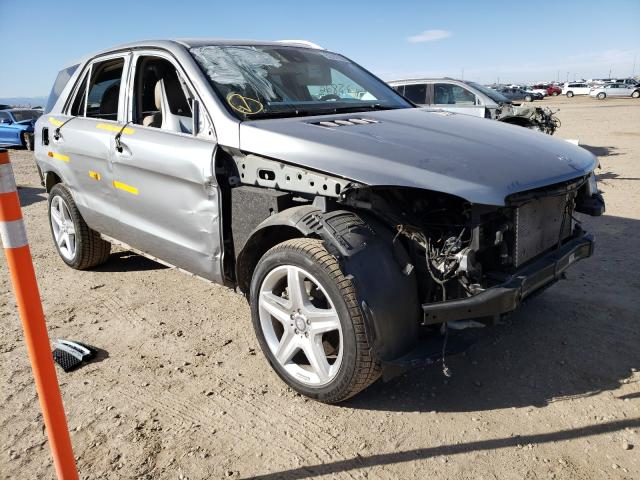 Salvage cars for sale from Copart Brighton, CO: 2015 Mercedes-Benz ML 400 4matic