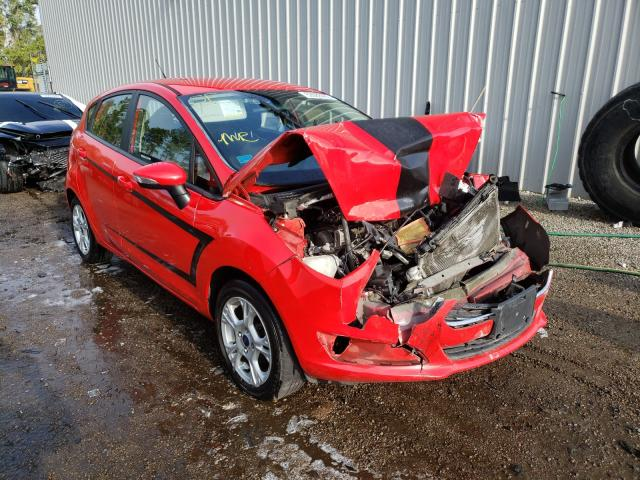 Ford Fiesta SE salvage cars for sale: 2014 Ford Fiesta SE