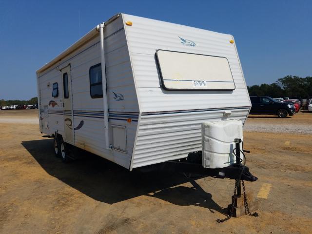Jayco Travel Trailer salvage cars for sale: 2000 Jayco Travel Trailer