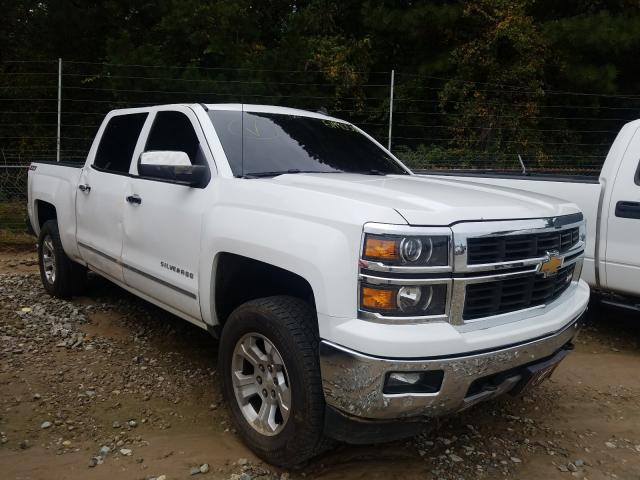 Salvage cars for sale from Copart Gainesville, GA: 2014 Chevrolet Silvrdo LT