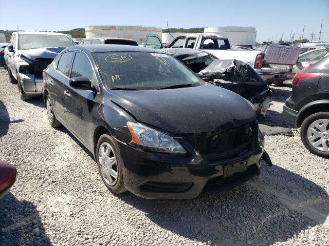 Salvage cars for sale at Tulsa, OK auction: 2014 Nissan Sentra S