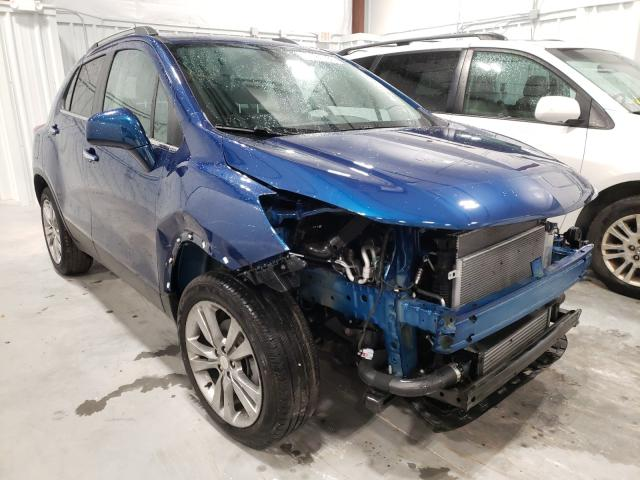 Salvage cars for sale from Copart Milwaukee, WI: 2020 Chevrolet Trax 1LT