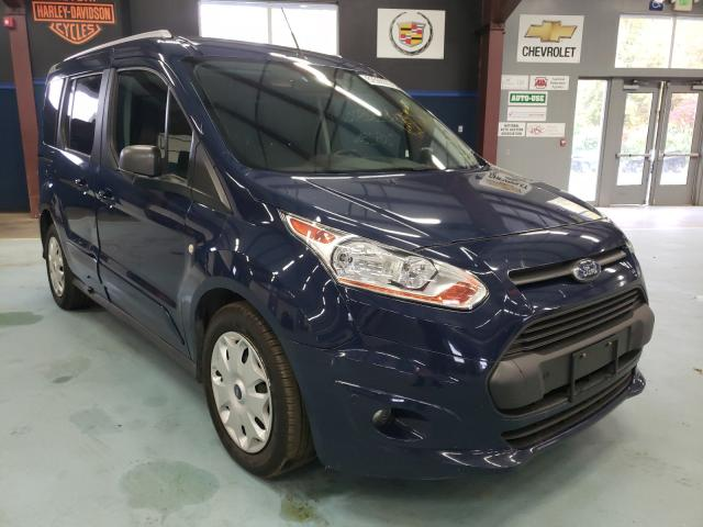 Salvage cars for sale from Copart East Granby, CT: 2017 Ford Transit CO