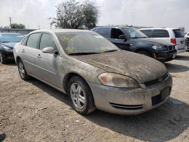 Salvage cars for sale from Copart Mercedes, TX: 2006 Chevrolet Malibu