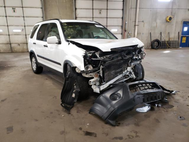 Salvage cars for sale from Copart Blaine, MN: 2005 Honda CR-V EX