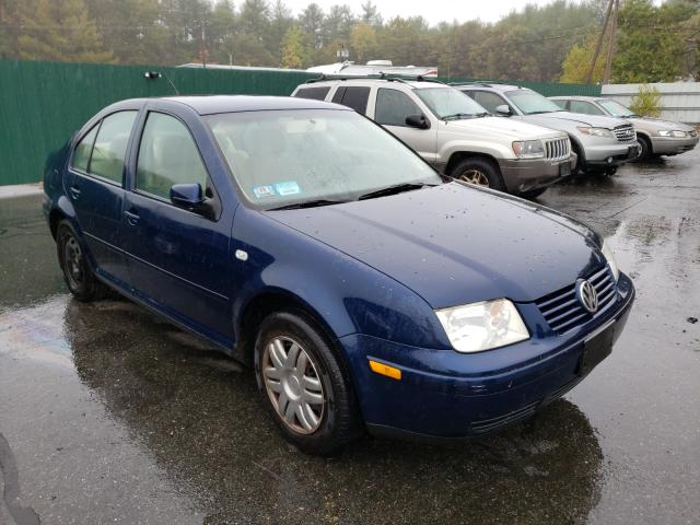 Salvage cars for sale from Copart Exeter, RI: 2003 Volkswagen Jetta GL