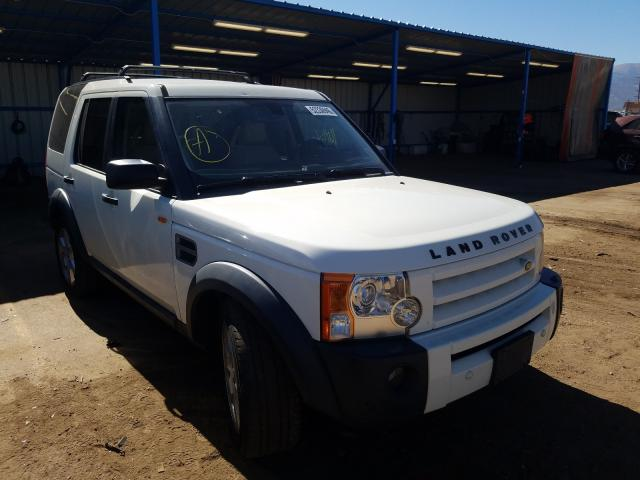 Land Rover salvage cars for sale: 2007 Land Rover LR3 HSE