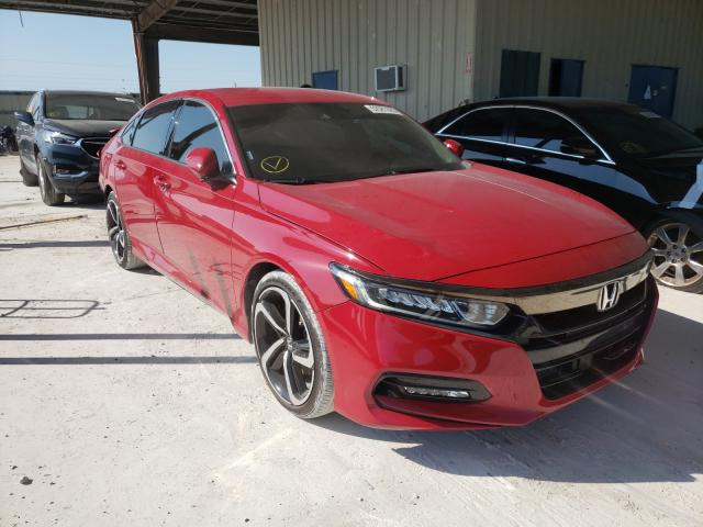 Salvage cars for sale from Copart Homestead, FL: 2019 Honda Accord Sport