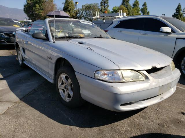 Salvage cars for sale at Rancho Cucamonga, CA auction: 1996 Ford Mustang GT