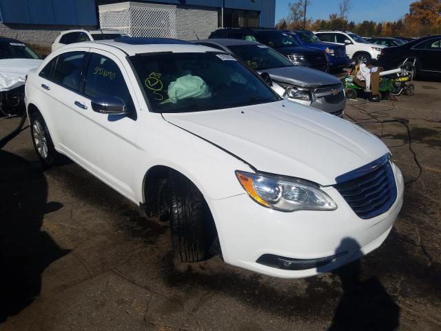 Chrysler salvage cars for sale: 2013 Chrysler 200 Limited