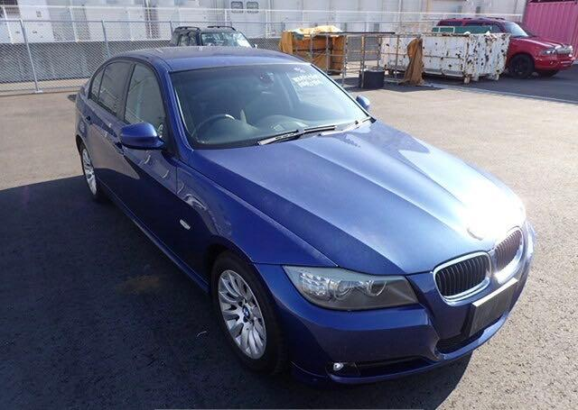 Salvage cars for sale at North Billerica, MA auction: 2009 BMW 320I