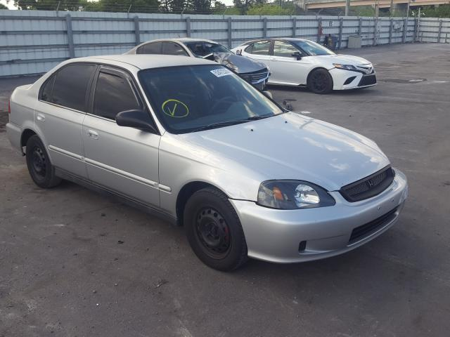 Honda Civic Base salvage cars for sale: 1999 Honda Civic Base