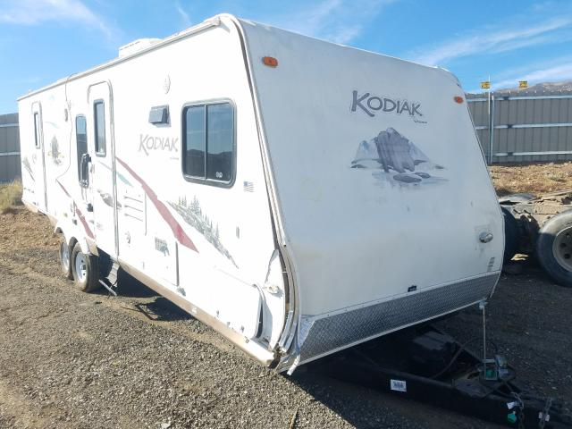 Dutchmen salvage cars for sale: 2010 Dutchmen Kodiak