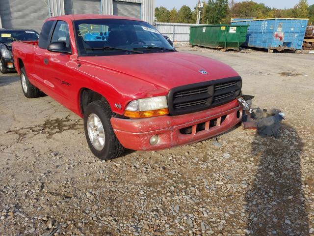 Salvage cars for sale at Memphis, TN auction: 2000 Dodge Dakota