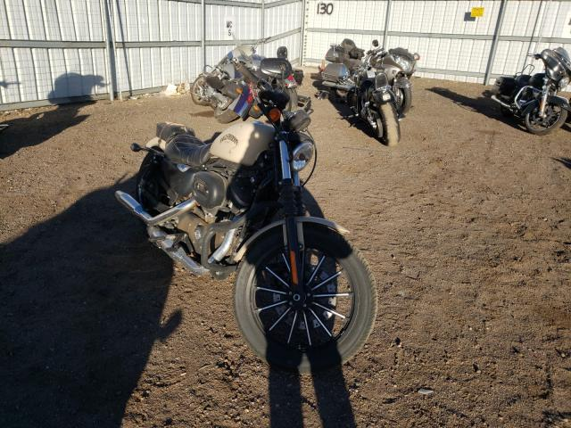 Salvage cars for sale from Copart Brighton, CO: 2015 Harley-Davidson XL883 Iron