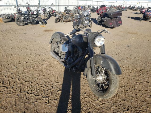 Salvage cars for sale from Copart Brighton, CO: 2002 Harley-Davidson Flstci