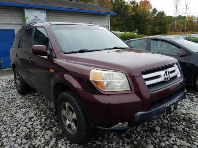 Salvage cars for sale from Copart Mebane, NC: 2007 Honda Pilot EX