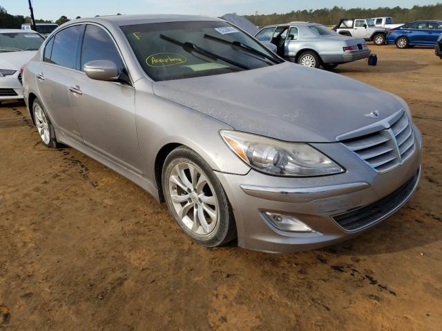 Salvage cars for sale from Copart Eight Mile, AL: 2013 Hyundai Genesis 3